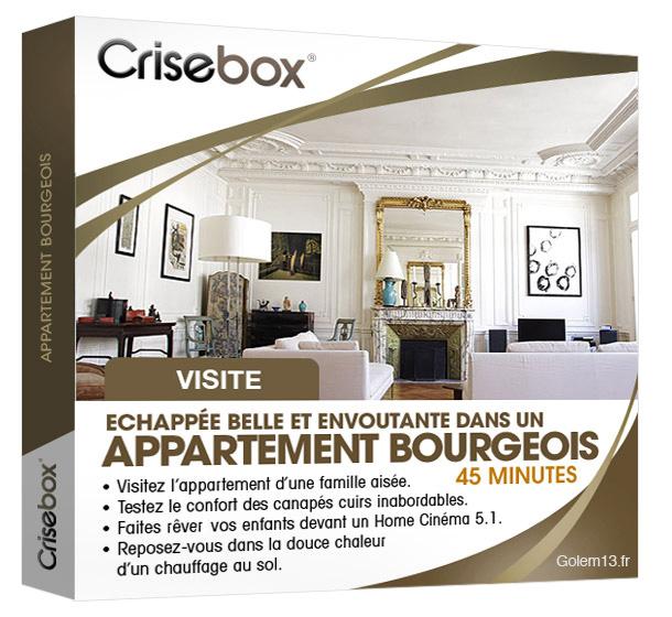Crisebox Appartement Bourgeois