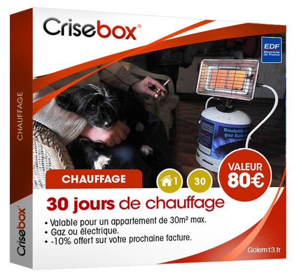 Crisebox Chauffage