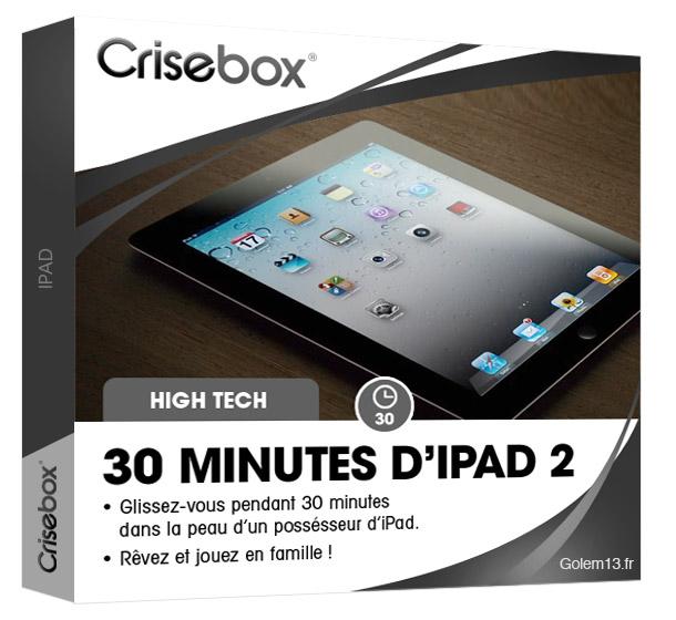 Crisebox iPad Location