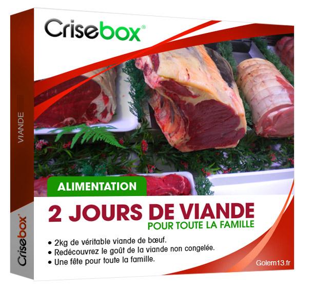 Crisebox Viande